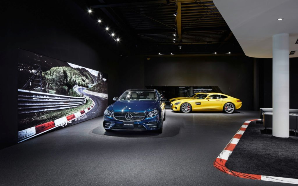 AMG Brandcenter in Tokyo (Foto: Daimler)