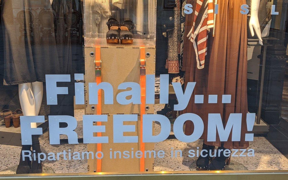 Sisley Store in Venedig nach Ende des Lockdowns (Foto: invidis)