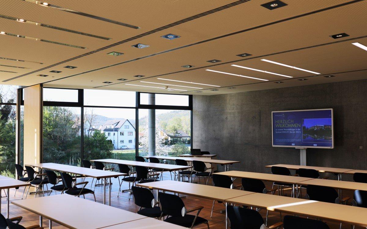 Kongressraum neu mit LED von ASC in der Stadthalle Tuttlingen (Foto: ASC)
