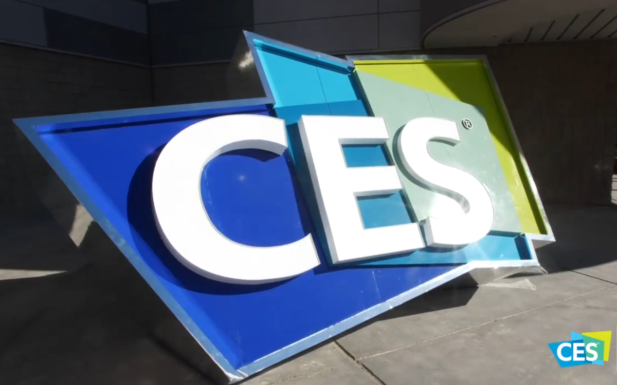 Logo der CES in Las Vegas (Foto: Screenshot)