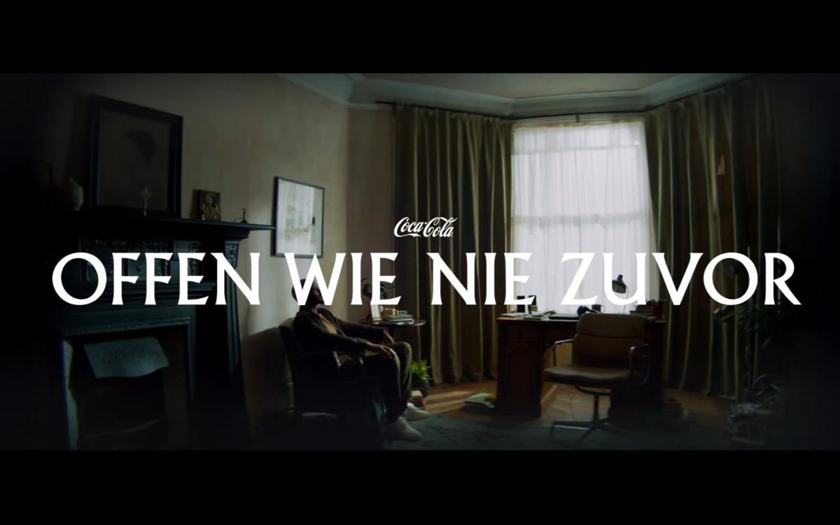"""Die erste Coca-Cola Kampagne in Deutschland seit Covid-19 mit dem Titel """"Offen wie nie zuvor""""ermutigt dazu, gemeinsam das neue Normal zu gestalten (Foto: Coca-Cola)"""