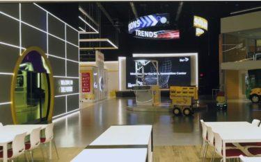 Das DHL Innovation Center in Chicago zeigt mit viel Digital, wie moderne Logistik funktioniert (Foto: Screenshot)