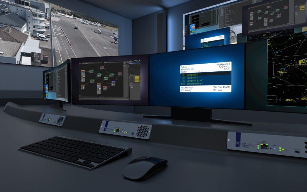 Der neue G6D Showroom verspricht ein 360°-KVM-Erlebnis (Foto: Guntermann & Drunck)