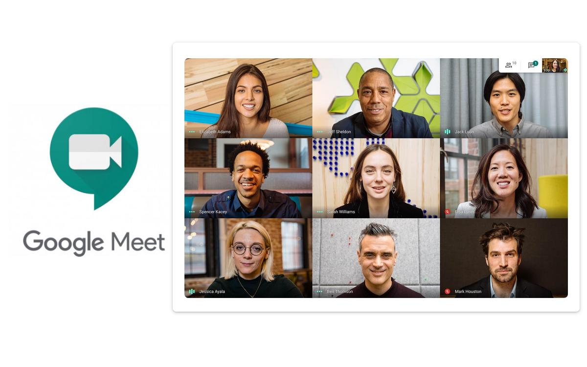 Google Meet macht jetzt Videocalls am heimischen Fernseher möglich (Foto: Google)