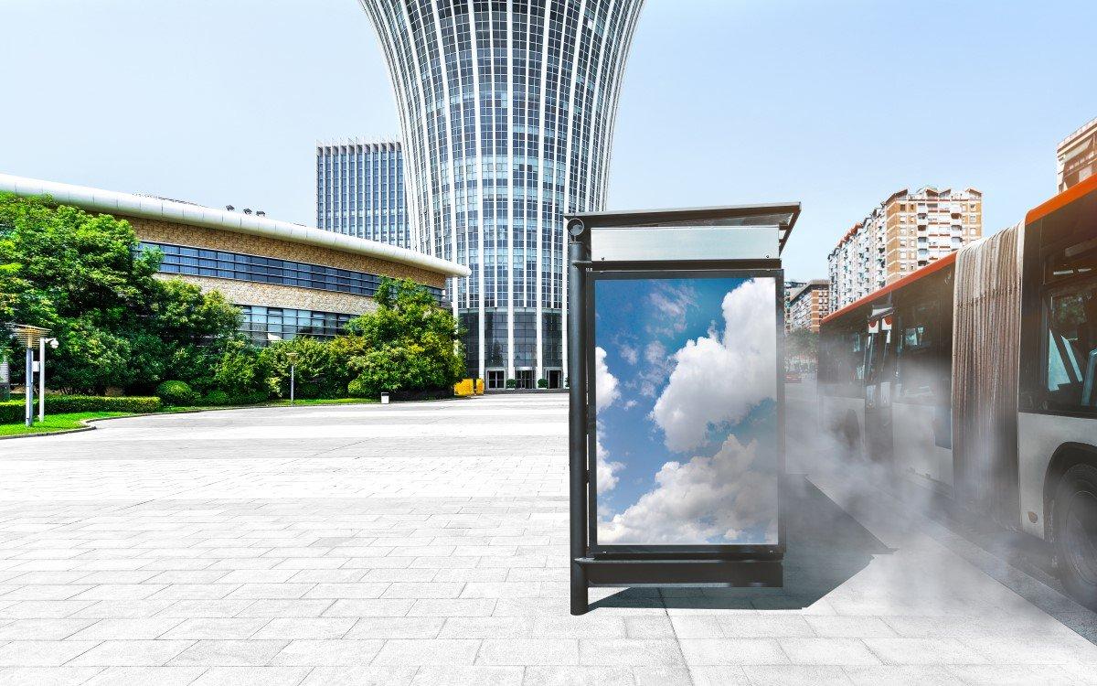 erunreinigte Luft und Hitze sind die größten Feinde für Outdoor-Digital-Signage (Foto: W. L. Gore & Associates)