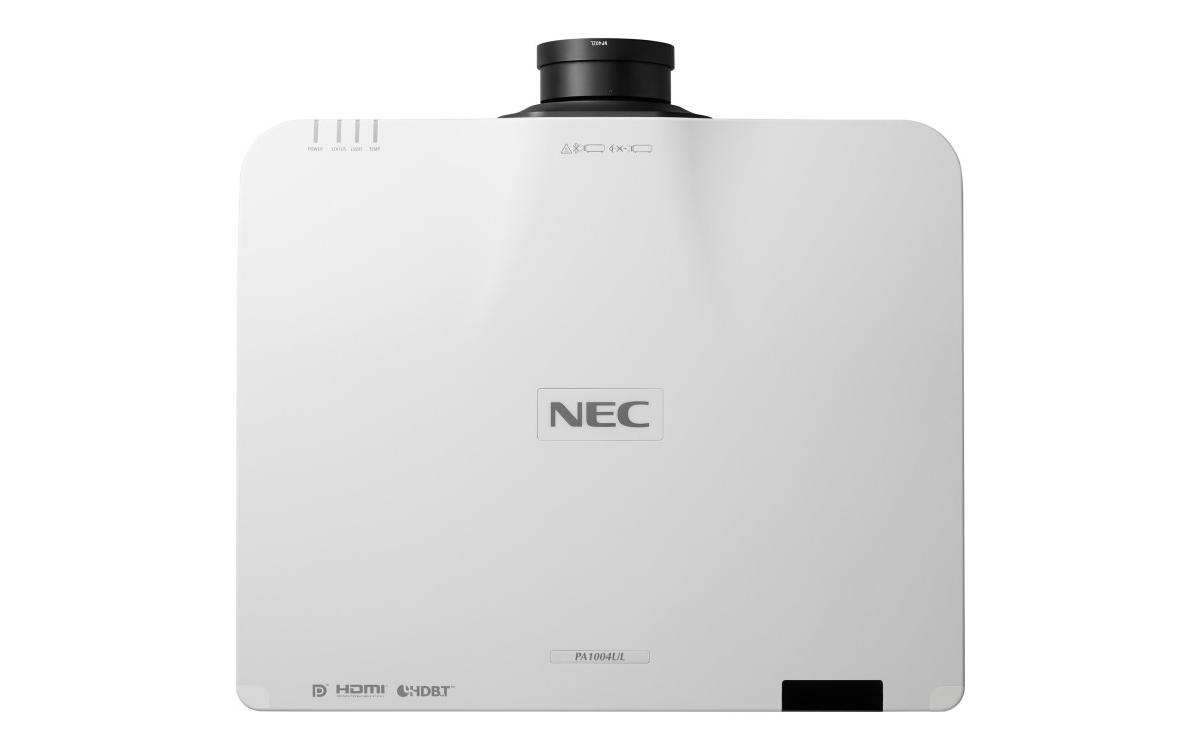 NEC Display Solutions Europe bringt die neuen superleisen Laserprojektoren PA804UL und PA1004UL auf den Markt (Foto: NEC)