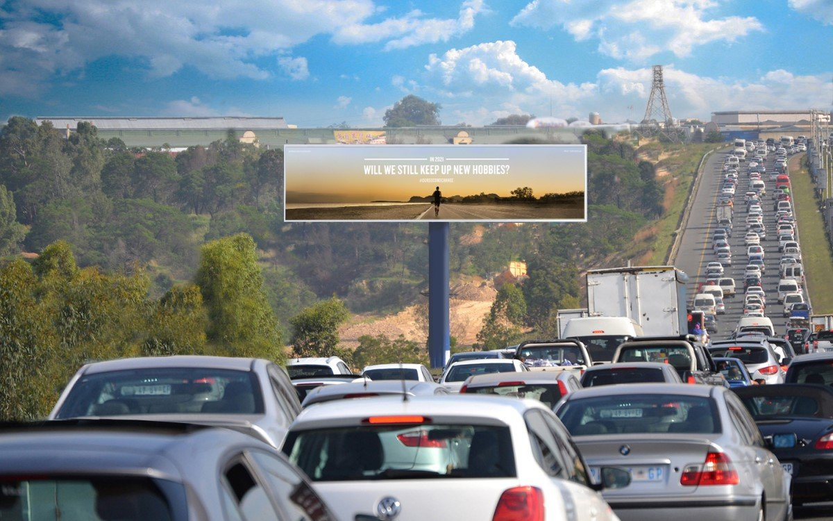 Die #OurSecondChance-Kampagne auf (D)OoH-Flächen von Primedia Outdoor in Südafrika (Foto: Primedia Outdoor)