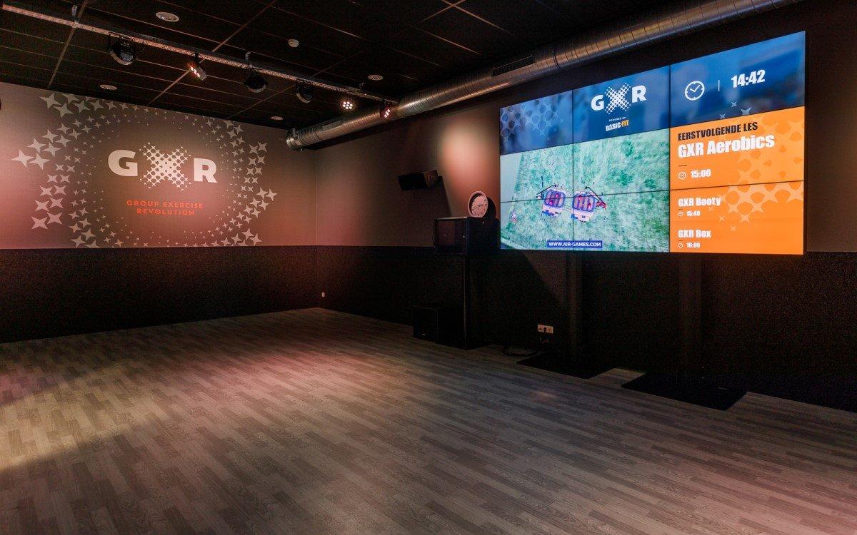Basic-Fit schafft mit Lösungen von Scala ein virtuelles Fitness-Erlebnis an mehr als 800 Standorten in den Benelux-Ländern, Frankreich und Spanien (Foto: Scala)