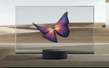 Der Mi TV Lux Transparent von Xiaomi ist der erste transparente OLED-TV für den Consumer Markt (Foto: Xiaomi)