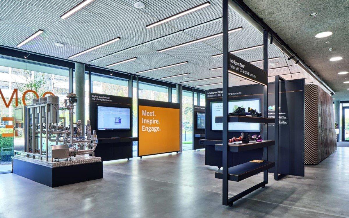 SAP hat ein neues Experience Center am Stammsitz in Walldorf eingerichtet (Foto: Visplay/Annika Feuss Fotografie)