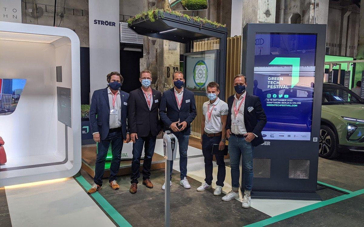 Ströer präsentiert nachhaltige Green City Lösungen (Foto: invidis)