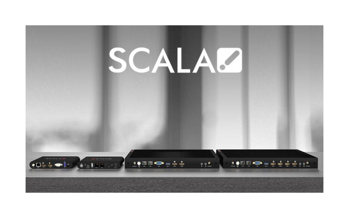Scala Mediaplayer für Digital Signage (Foto: Scala)