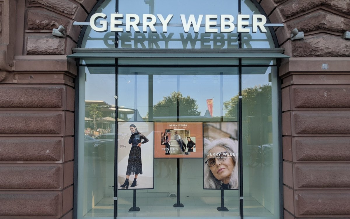 Digital Signage bei Gerry Weber am Jungfernstieg (Foto: invidis)