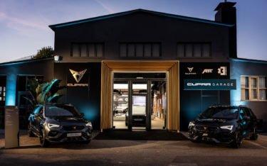 Seat Cupra Garage in Hamburg (Foto: Cupra)