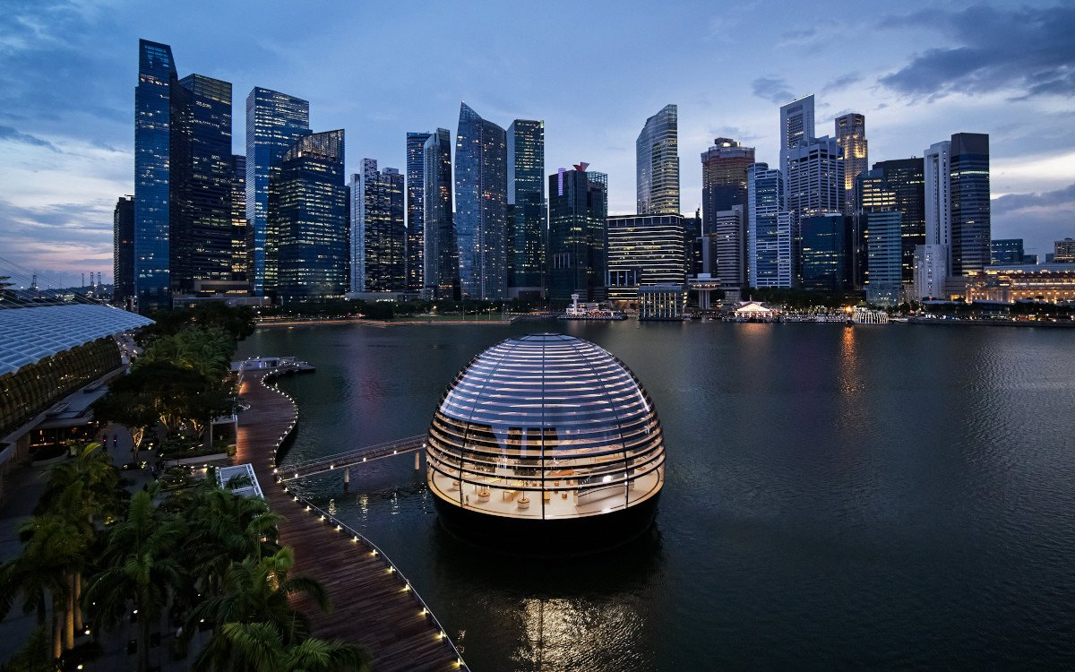 Apple Marina Bay Sands in Singapore (Foto: Apple)
