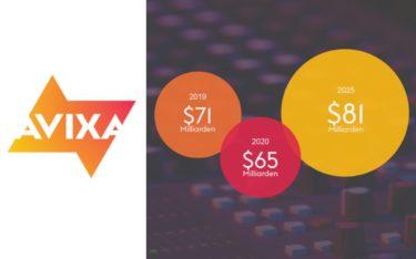 Laut der neuen Prognosen von AVIXA erholt sich die Pro-AV-Industrie nach dem Corona-Knick ab 2021 wieder und soll dann kräftig wachsen (Foto: AVIXA)