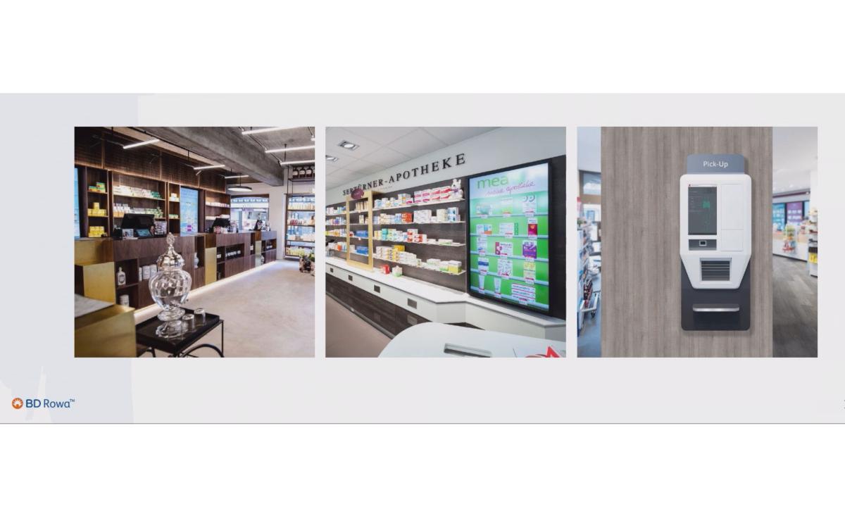 Zum DSS 2020 - The Show zeigte Dirk Bockelmann von BD Rowa, wie Digital Signage in Apotheken die Customer Experience optimieren kann (Foto: Screenshot)
