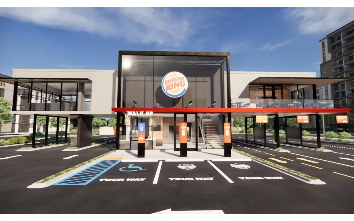 Burger King enthüllt ein neues 'berührungsloses' Ladenkonzept, um sich dem neuen Kundenverhalten anzupassen (Foto: Screenshot)