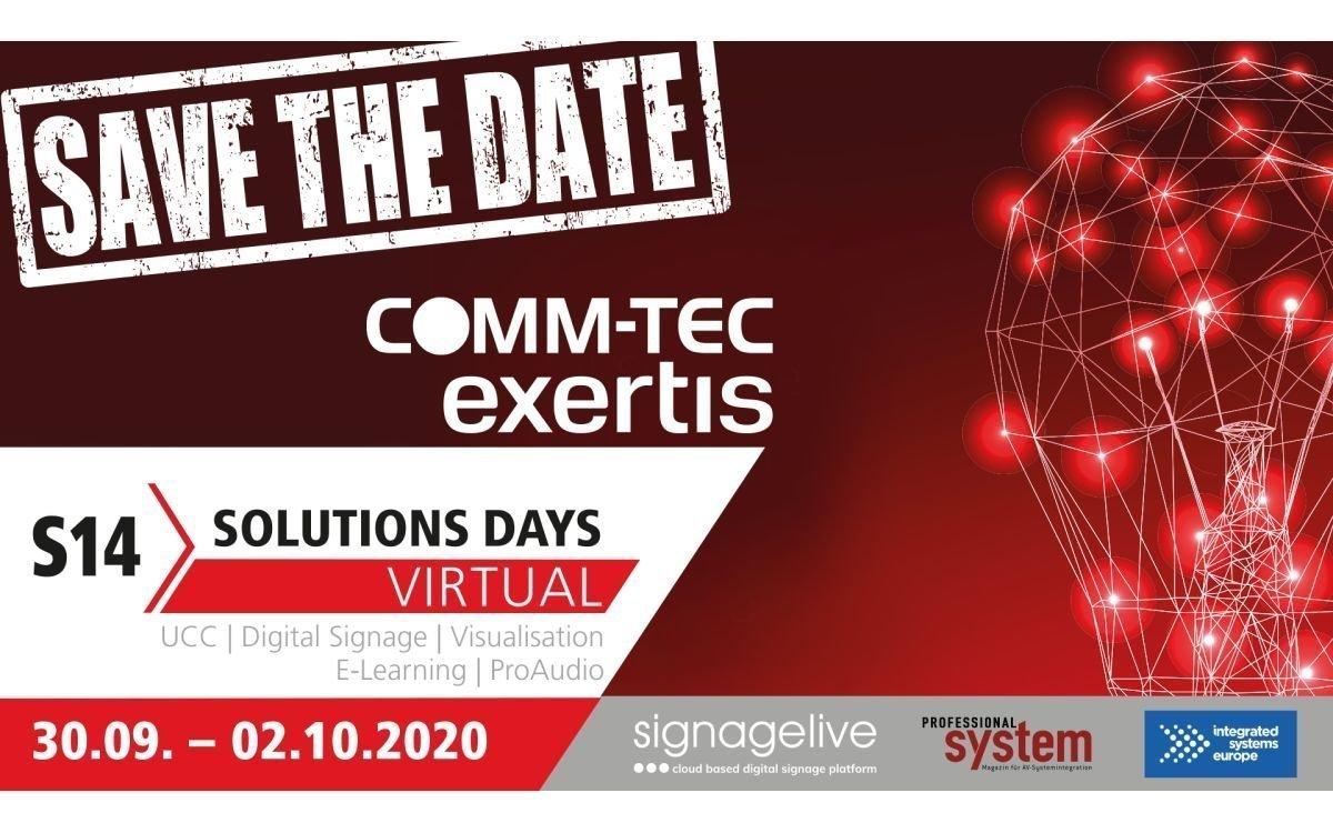 Signagelive veranstaltet zu den Virtual S14 Solutions Days zwei Webinare mit Aferdita Qesku, Signagelive Director of Sales (Foto: COMM-TEC)