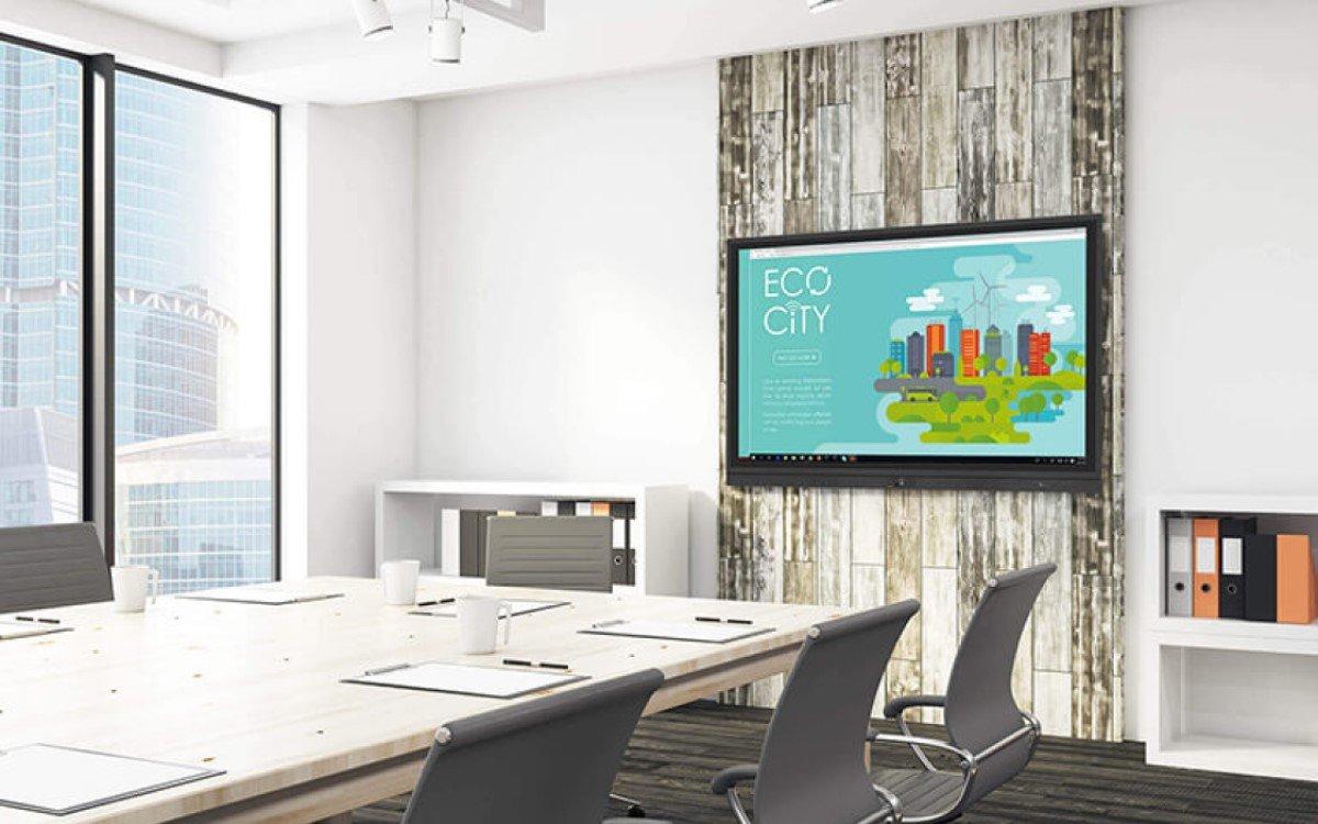 ViewSonics IFP50-Serie eignet sich für interaktive Präsentationen in Unternehmen und Bildungseinrichtungen (Foto: ViewSonic)