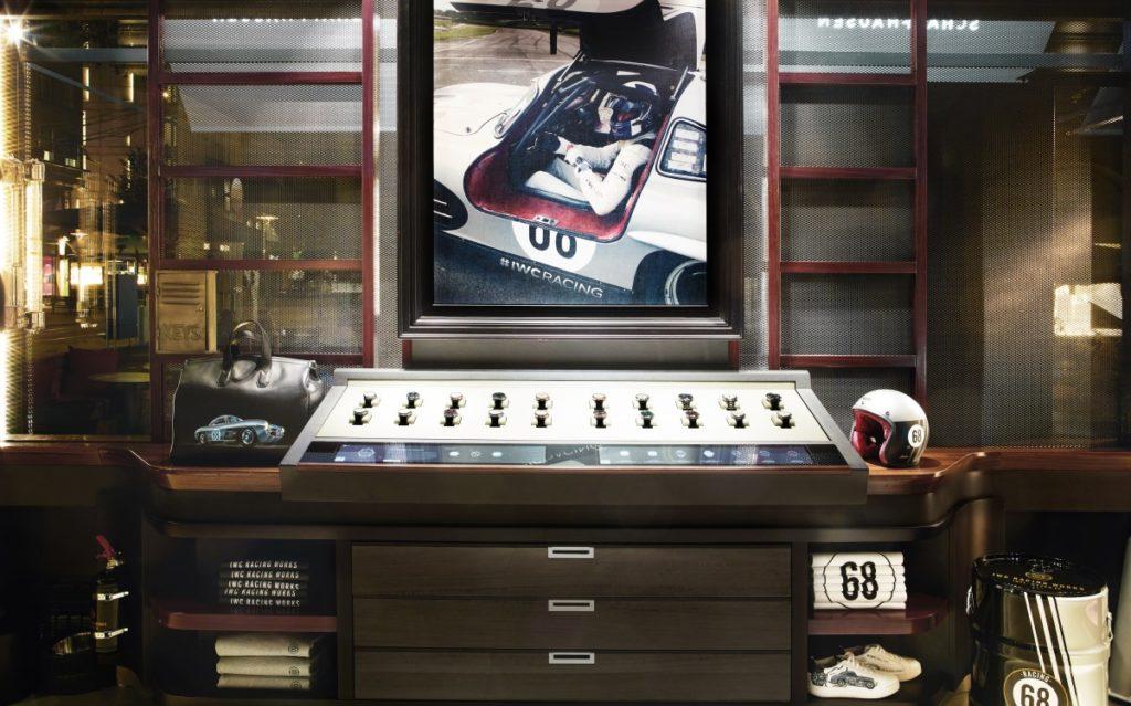 Uhren-Accessoires in der IWC Flagship-Boutique in Zürich (Foto: Valentin Jeck/IWC Schaffhausen)
