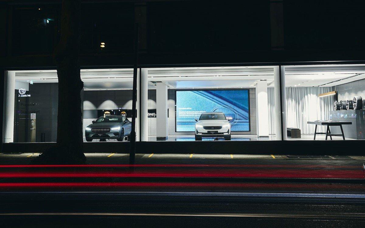 Die schwedische Elektro-Performance-Marke Polestar von Volvo öffnet ihren ersten deutschen Spaces Showroom in Düsseldorf (Foto: Volvo)