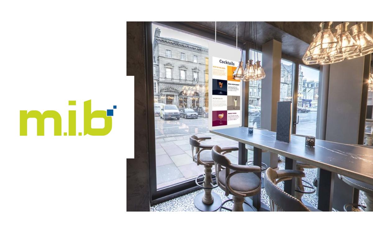 m.i.b realisiert Digital Signage-Projekte für Geschäfte und Lokale (Foto: m.i.b)