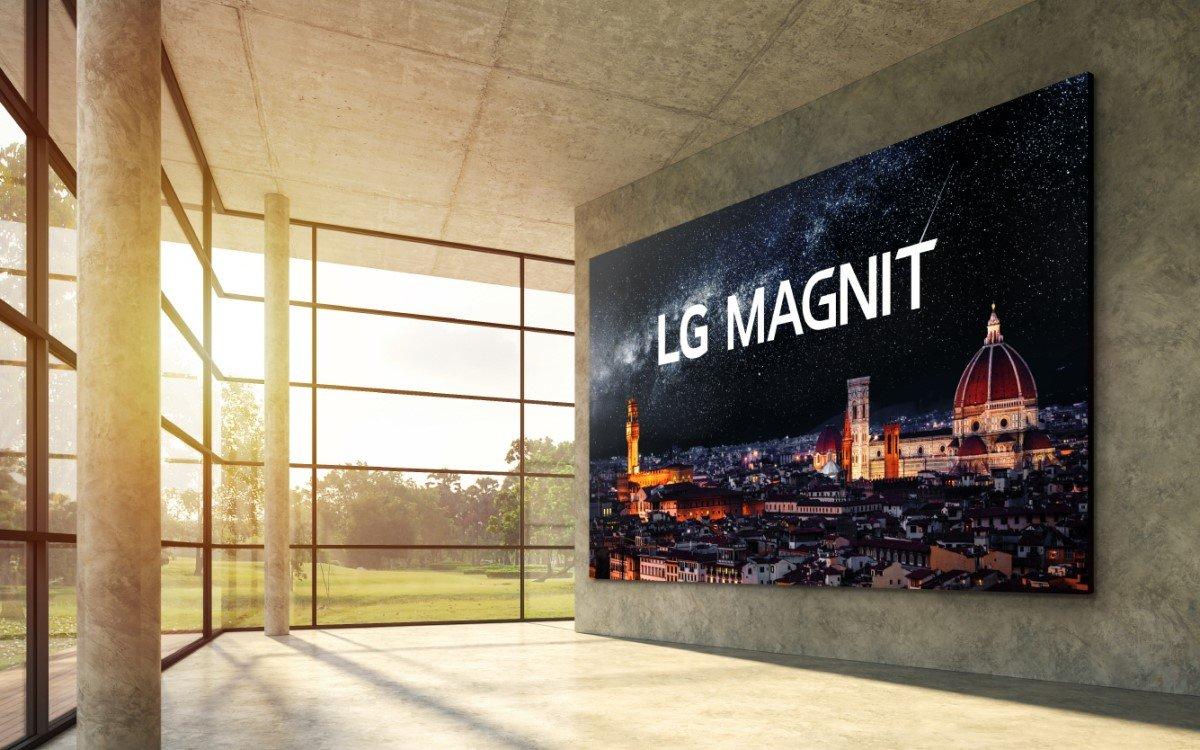 LG Magni ist der erste MicroLED Screen aus dem Hause des südkoreanerischen Tech-Konzerns (Foto: LG)