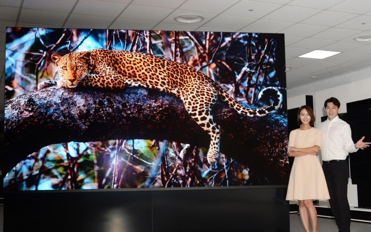 Präsentation des MicoLED-Screens LG Magnit (Foto: LG)