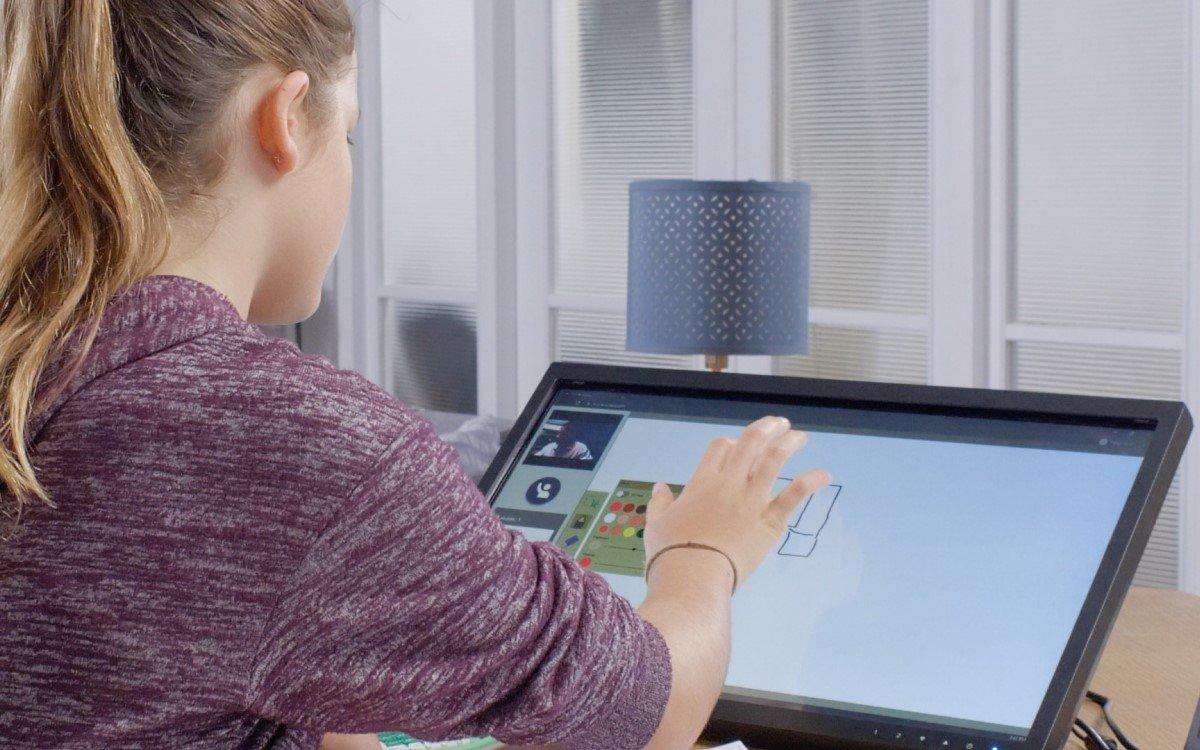 myViewBoard Classroom ist für digitale Whiteboard-Displays entwickelt worden, um Inhalte in Echtzeit vorzubereiten und zu präsentieren (Foto: ViewSonic)