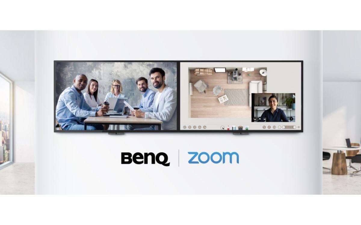 BenQ hat sich mit Zoom zusammengetan, um künftig zertifizierte interaktive Conferencing-Displays herauszubringen (Foto: BenQ)