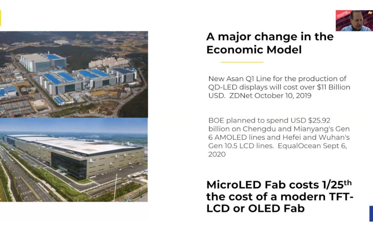 Stratacache CEO Chris Riegel in der Digital Signage Power Hour über die Kostenersparnis von MicroLED (Foto: Screenshot)