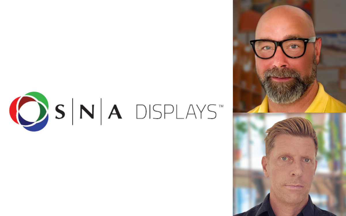 Johan Skepparman (oben) und Peter Gustafsson ergänzen künftig das SNA Display Team für Europa von Stockholm aus (Foto: SNA Displays)