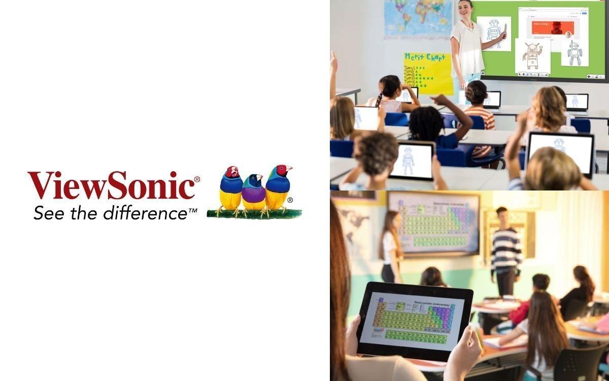 """ViewSonic launcht myViewBoard Classroom für die """"neue Normalität"""" im Bildungsbereich (Foto: ViewSonic)"""