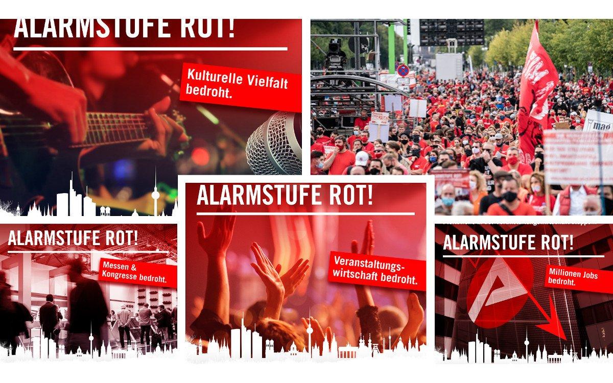 Alarmstufe Rot Großdemo in Berlin (Foto: AlarmstufeRot)