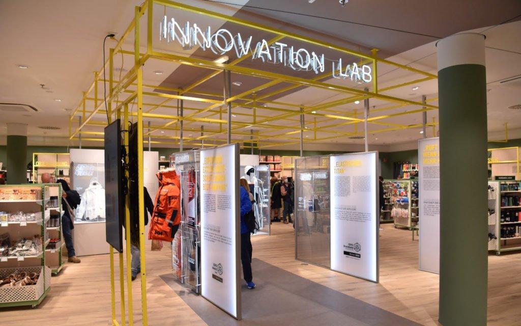Innovation Lab bei Globetrotter in Berlin (Foto: P.Hoffmann)