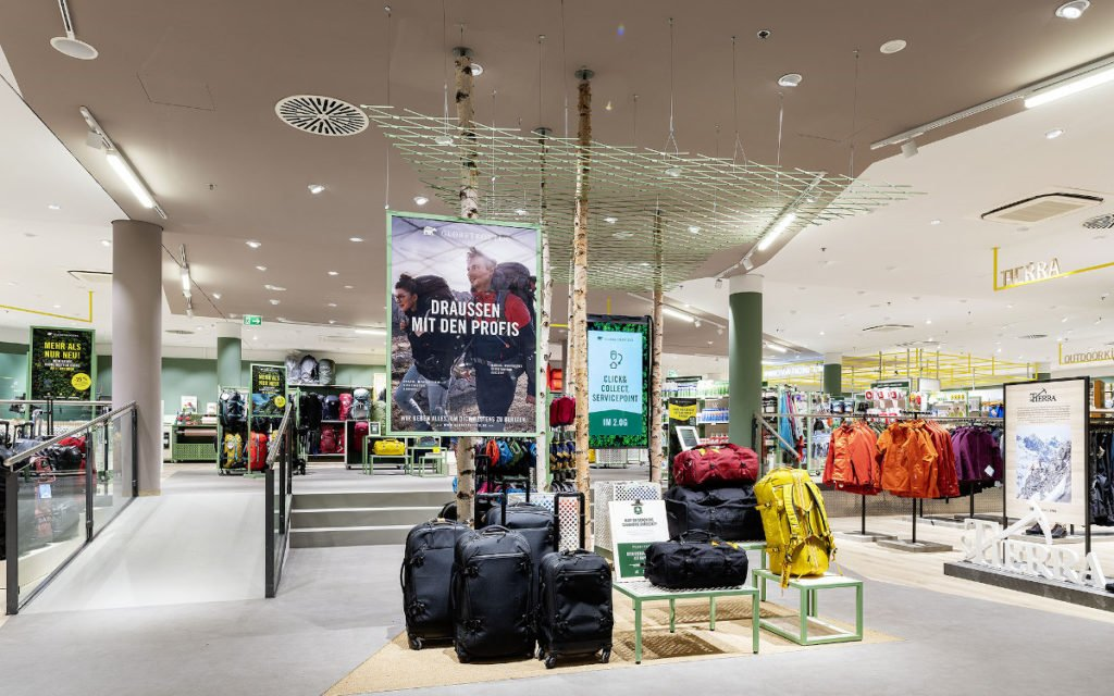 Neuer Globetrotter-Flagship Store in Berlin (Foto: Umdasch)