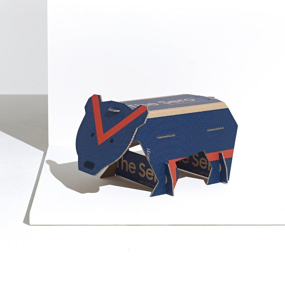 Samsung x Dezeen Öko-Verpackungsdesign (Foto: Samsung)