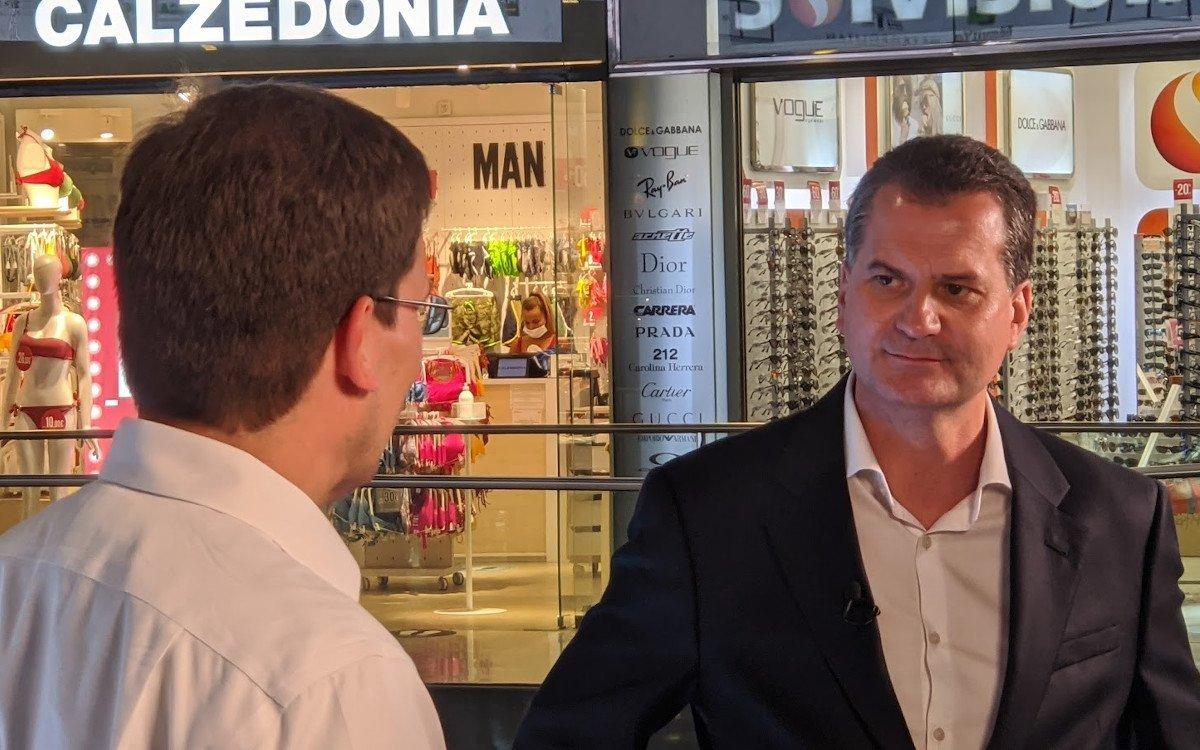 Trison CEO Alberto Caceres im Gespräch mit Invidis (Foto: invidis)