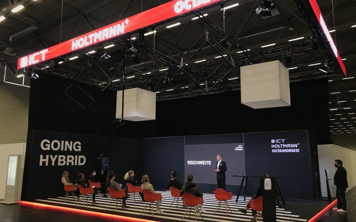 Hybrid Showroom von ICT und Holtmann (Foto: ICT)