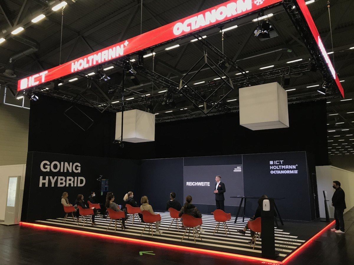 Hbrid Showroom von ICT und Holtmann (Foto: ICT)