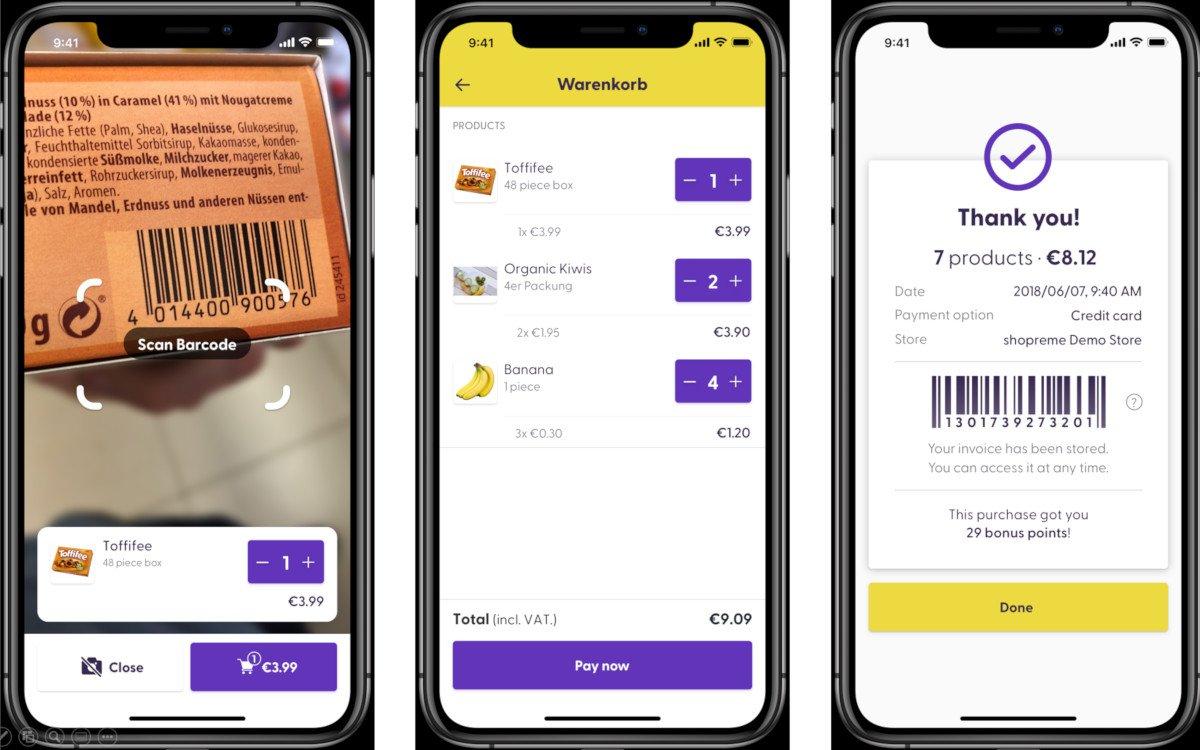 Shopreme App bei Billa (Foto: Shopreme)