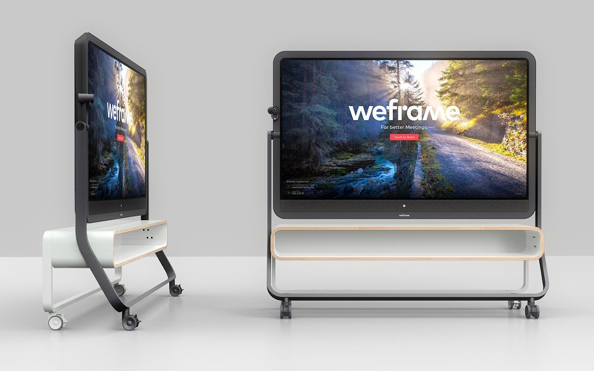 Weframe One - zentrale Meetinglösung (Foto: Weframe)