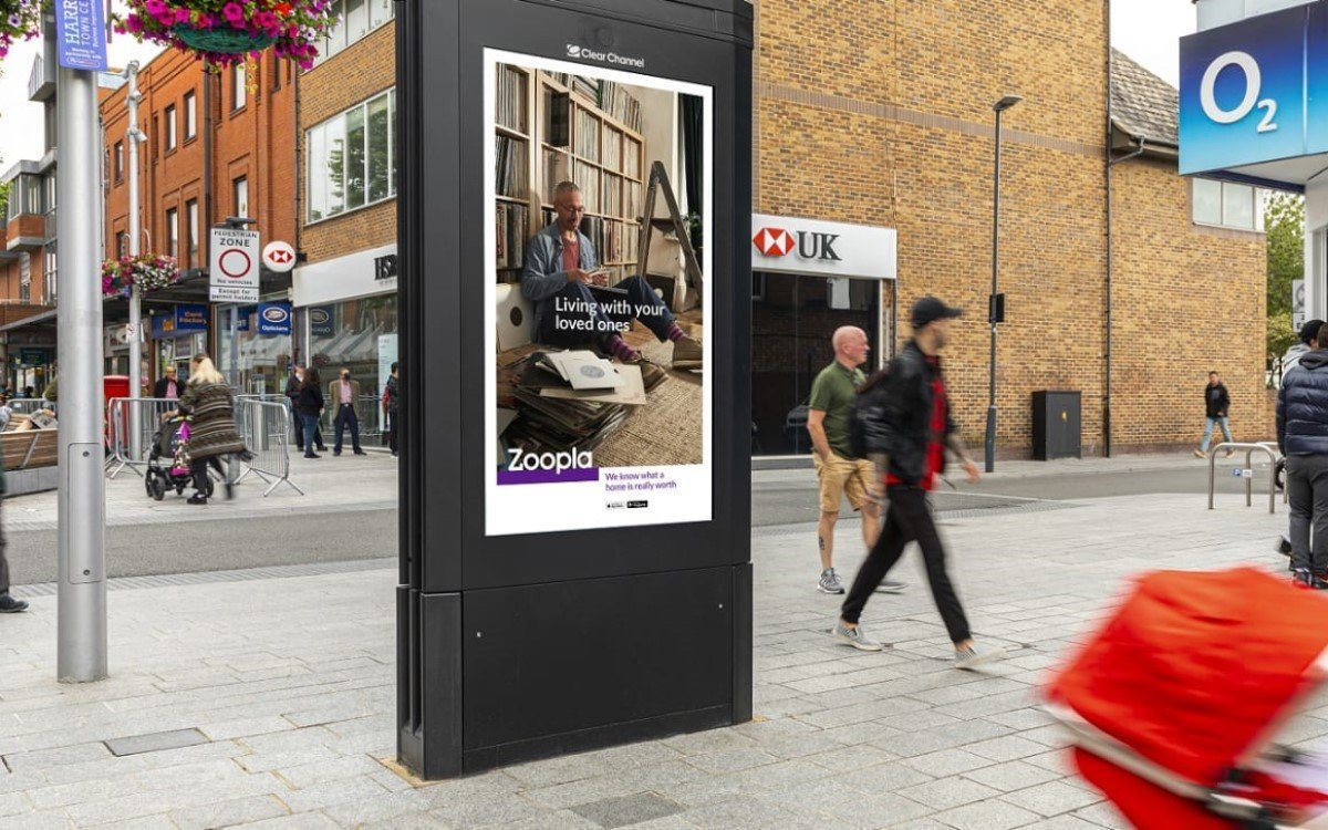 DooH-Stele von Clear Channel in UK (Foto: Clear Channel)