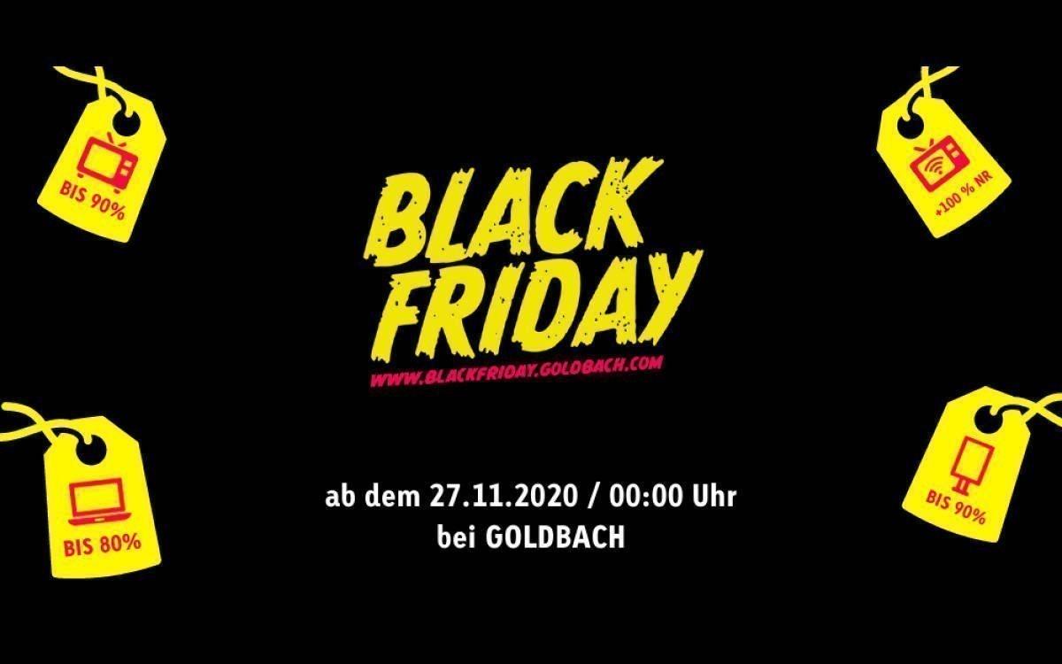 Goldbach startet zum Black Friday Aktionen für günstige Werbeflächen in seinem Netz (Foto: Goldbach)