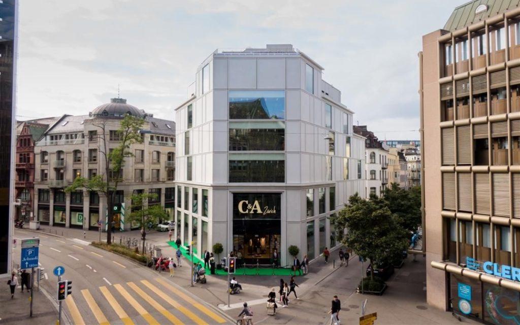 Der neue C&A Design-Store im neuen Konzept in Zürich (Foto: C&A)