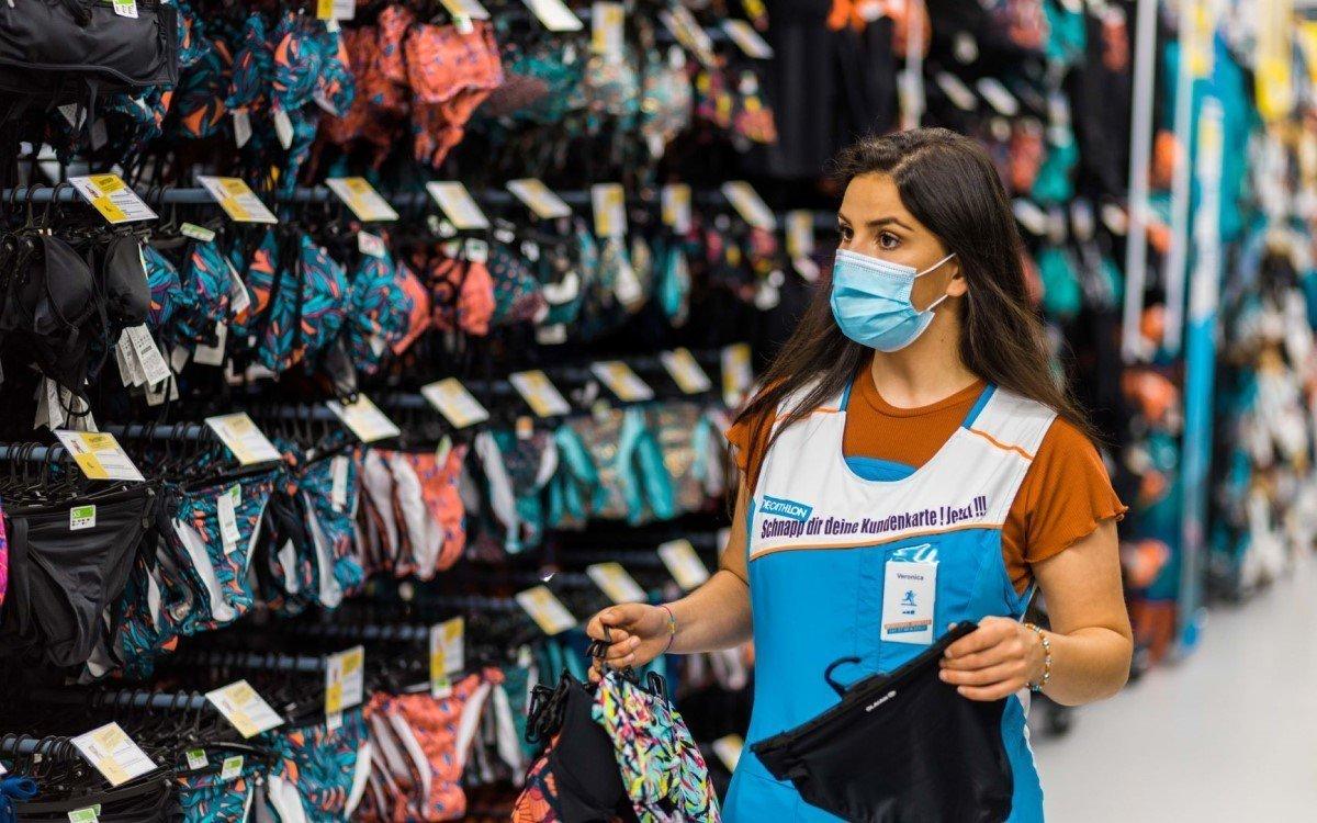 Abschluss mit Umsatzplus – Sportartikelhersteller und -händler Decathlon war 2020 erfolgreich, auch dank starkem E-Commerce (Foto: Decathlon)