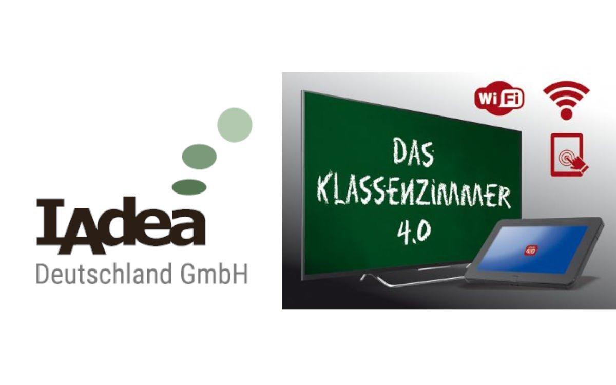 """IAdea bietet ein neues System """"digitales Klassenzimmer 4.0"""" aus verschiedenen Digital Signage-Lösungen an (Foto: IAdea Deutschland)"""