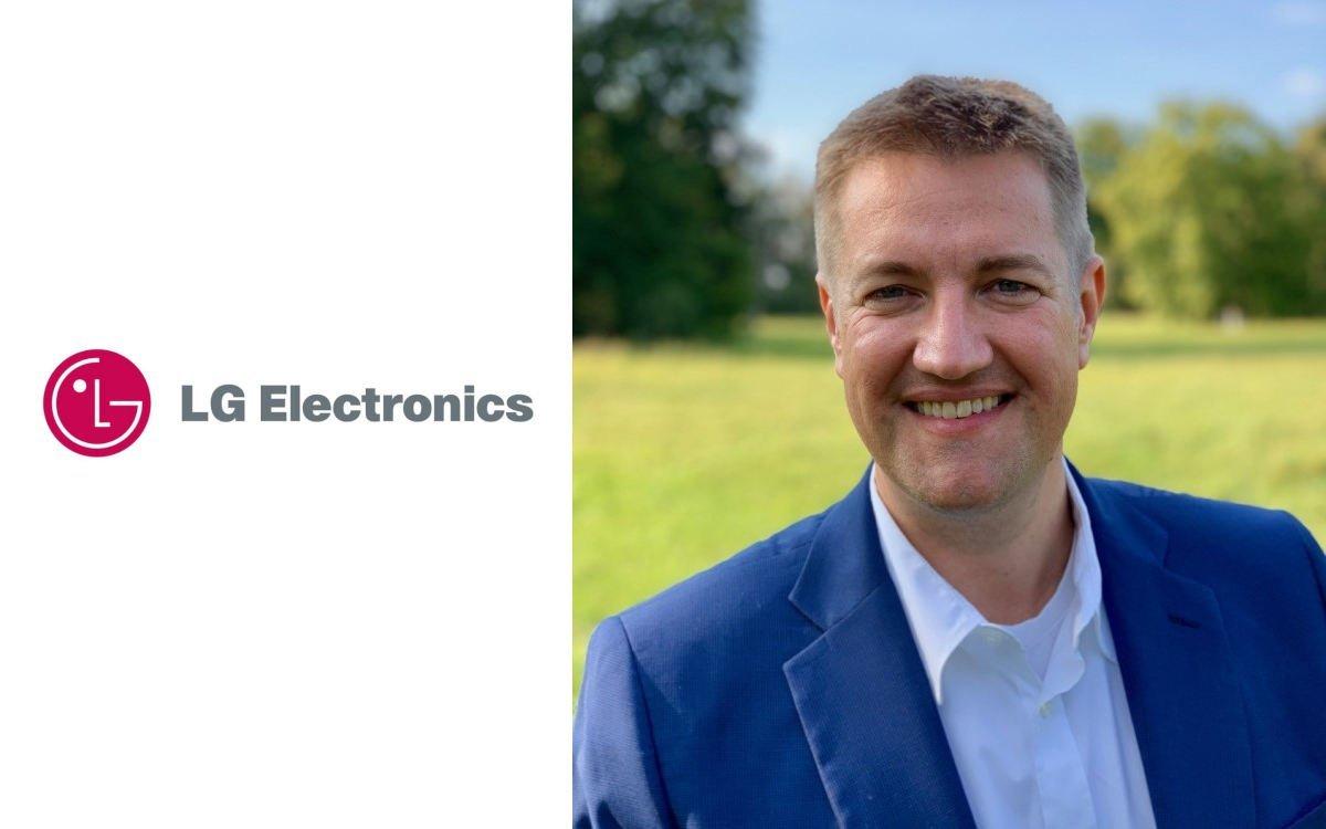 Florian Amannt unterstützt das Information-Display-Vertriebsteam von LG (Foto: LG Electronics)