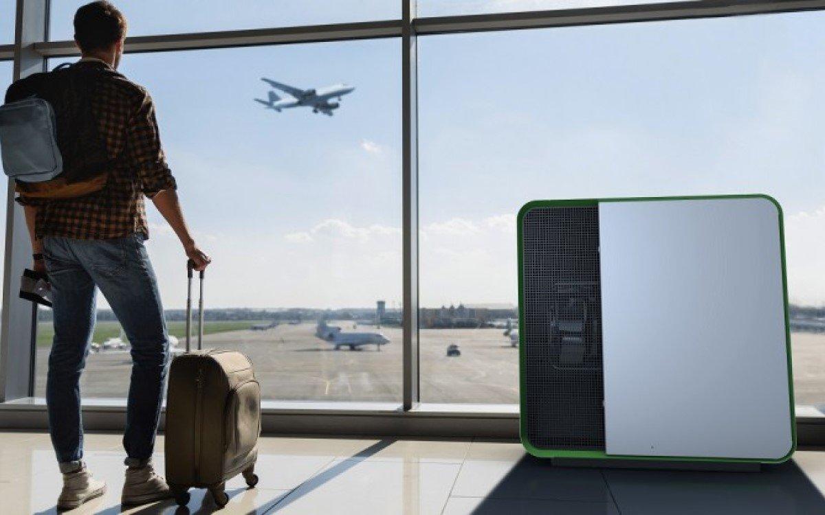 Mann + Hummel Luftfilter am Flughafen (Foto: Mann + Hummel)